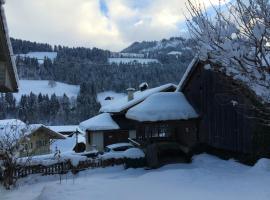 200 Year Old Swiss House, Erlenbach im Simmental