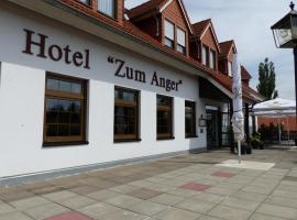 Hotel Zum Anger, Neukirchen-Pleiße