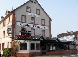 Hotel-Gasthof-Destille-Eisenbahn, Mosbach