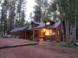 Big 10 Cabins Greer Arizona, Greer