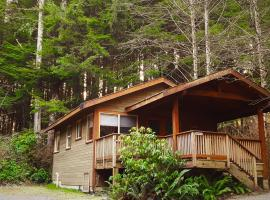 Evergreen Forest Cabins, 尤克盧利特