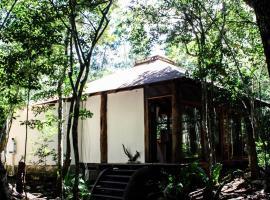 Romantic Cabaña en Dos Ojos, Tulum