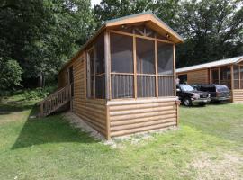 Blackhawk Camping Resort Cabin 1, Milton