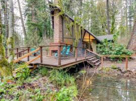 McKenzie River Cabin, Finn Rock