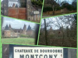 Gîte de campagne, Montcony