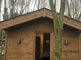 Riddings Wood lodges, Alfreton