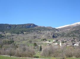 monolocale con balcone, Fenestrelle