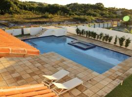 Casa Palma Azul de praia com piscina, Touros