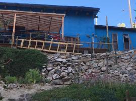 BLUE HOUSE, Valle del Elqui, Horcon