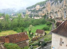 Un Jardin dans la Falaise, Cabrerets