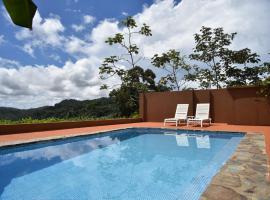 Pacific View Villa in Dominical, Barú