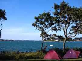 Camping Les Pieds dans l'eau, Crozon