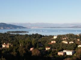 Panoramic View Of Corfu Island