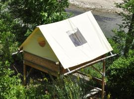 Camping de l'Auberge, Mostuéjouls