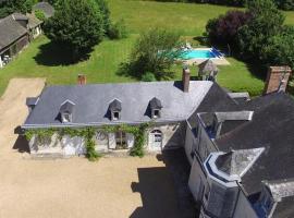 Vine House at Le Bignon, Jarzé