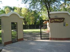 Cabañas La Morena, Moreno