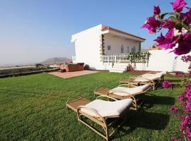 Villa Albe, jacuzzi con vistas al mar, Arona