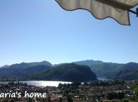 Maria's home, Lavena Ponte Tresa