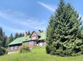 Chata Lysečiny, Horní Lysečiny