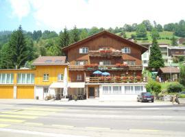 Hotel Alpina, Unterwasser