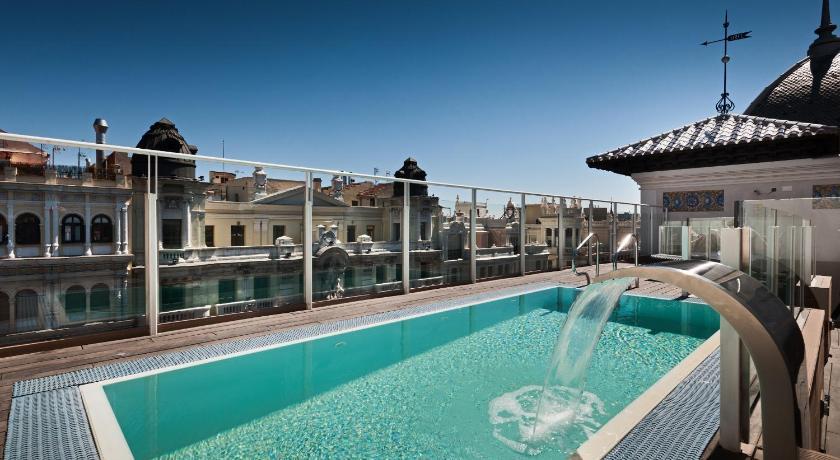 Hotel catalonia gran v a madrid espa a for Hoteles en madrid con terraza en la habitacion