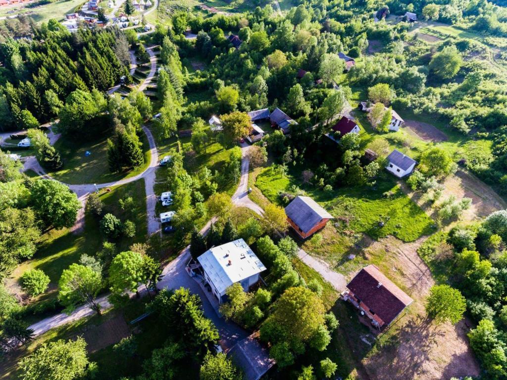 Vue panoramique sur l'établissement House Oliver