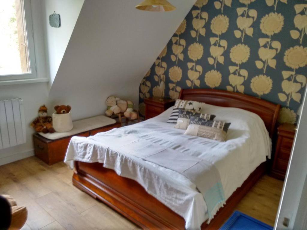 Bois De Kador Morgat Prancis Booking Com # Living Salon Bois Emplacement Tv