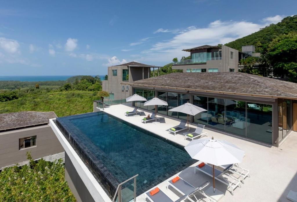villa tropical castle phuket  layan beach  thailand