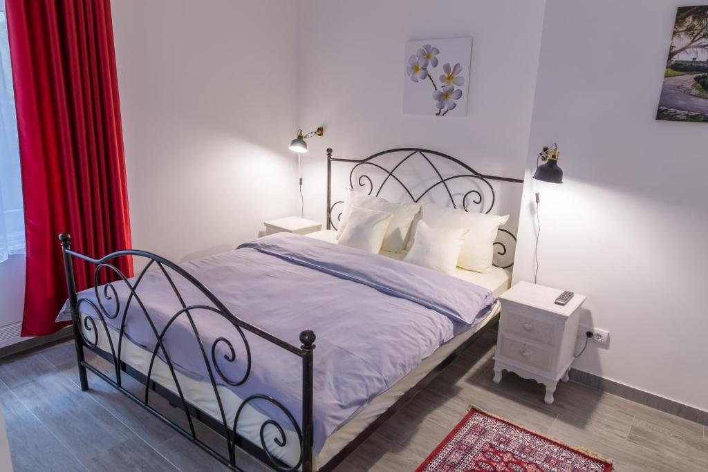 Krevet ili kreveti u jedinici u okviru objekta Apartment Savamala 59