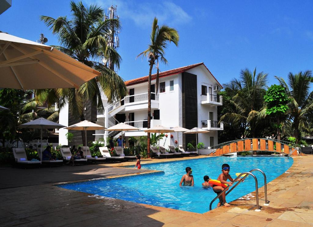 Kyriad Hotel Goa Calangute India Booking Com