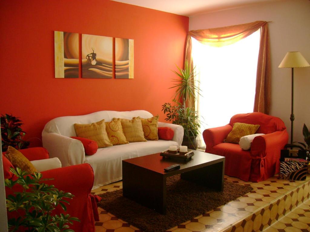 Zona de estar de Hotel Minas