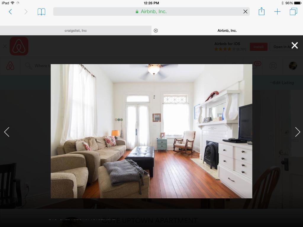 Cute Uptown Apartment, New Orleans, LA - Booking com