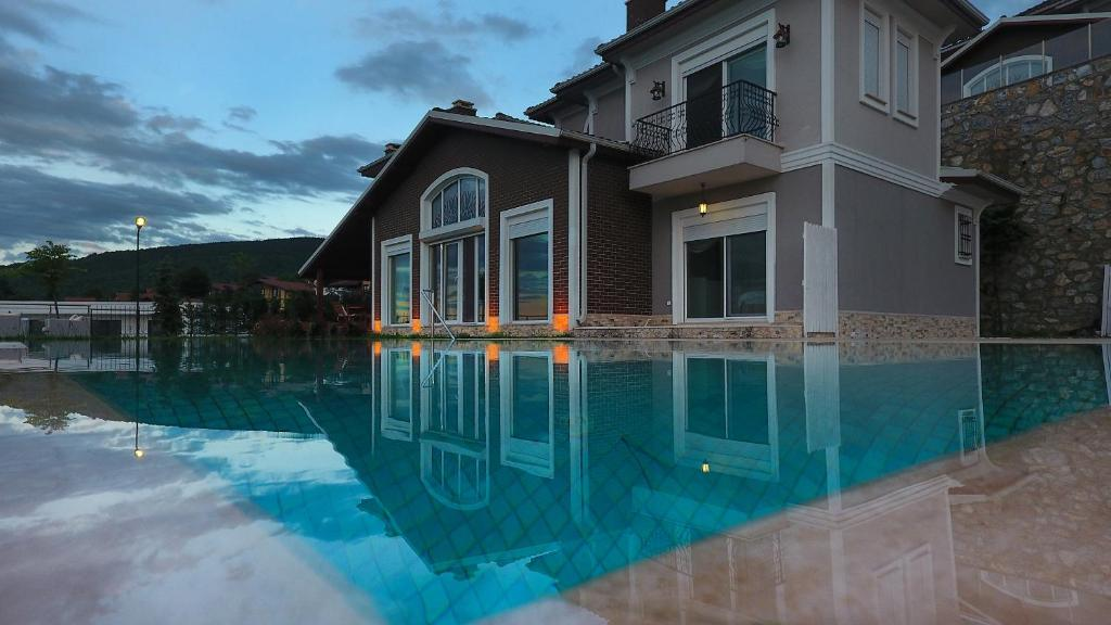The swimming pool at or near Basha Villas