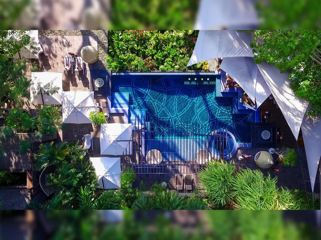 The swimming pool at or near Makanda by The Sea Hotel Adults Only