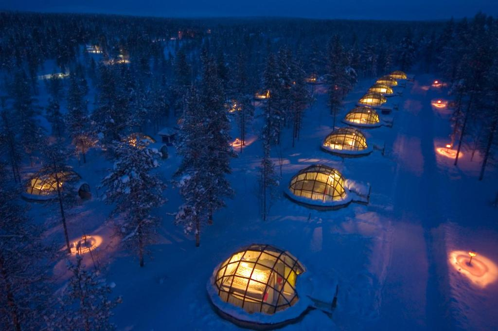 Image result for kakslauttanen arctic resort