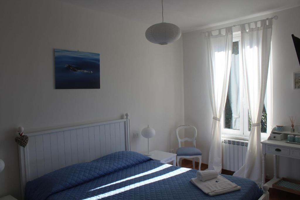Cama o camas de una habitación en 5 TERRE PELAGOS 2