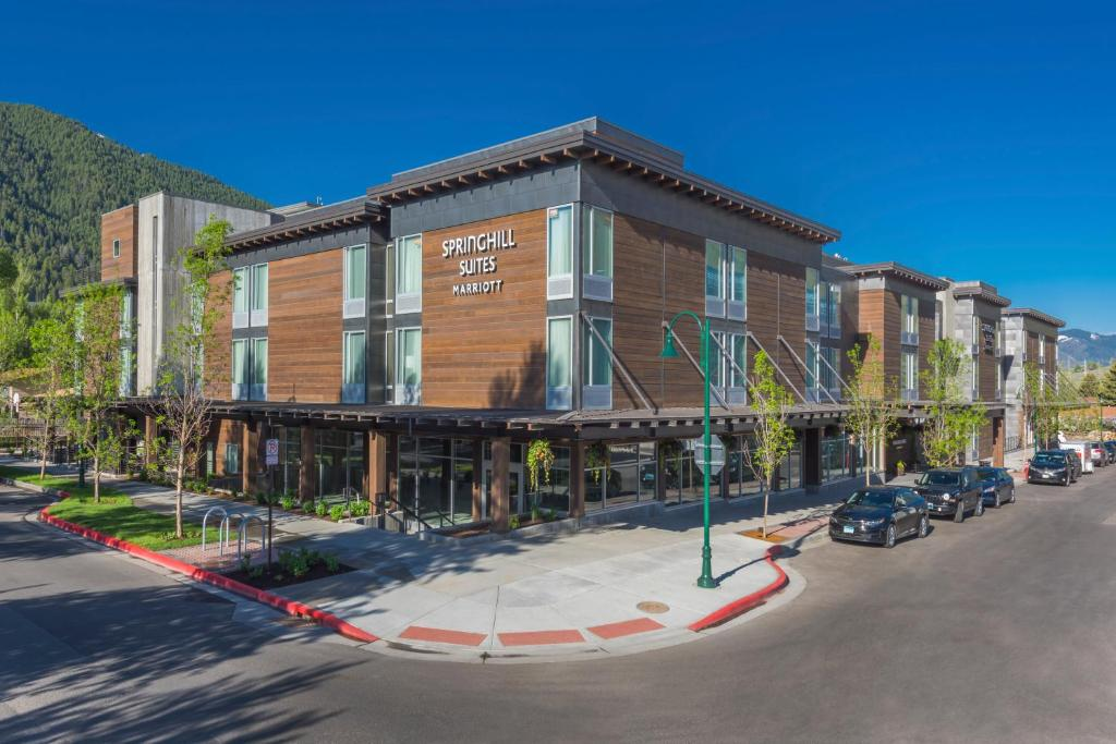 Hotel SpringHill Suites by Marriott Jacks, Jackson, WY - Booking.com