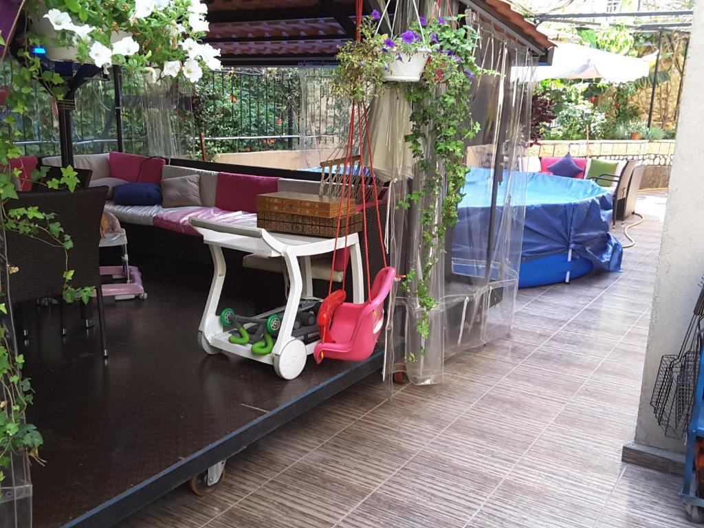 Garden Furniture Lebanon apartment garden master bedroom, adūnīs, lebanon - booking