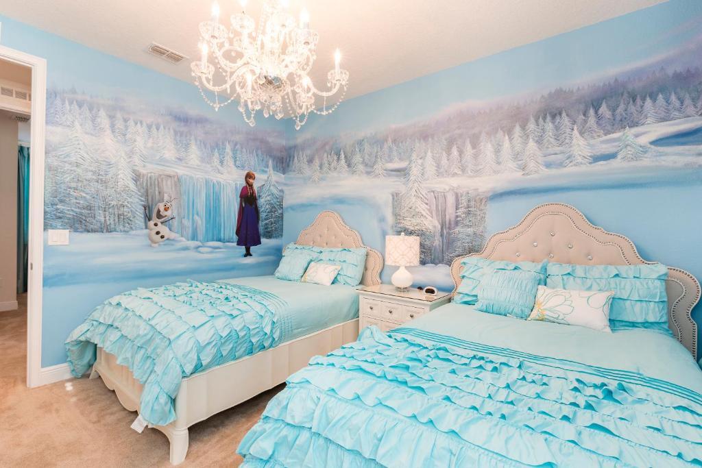 Rooms: Vacation Home 6 BR/6 BA Disney Themed Rooms, Orlando, FL