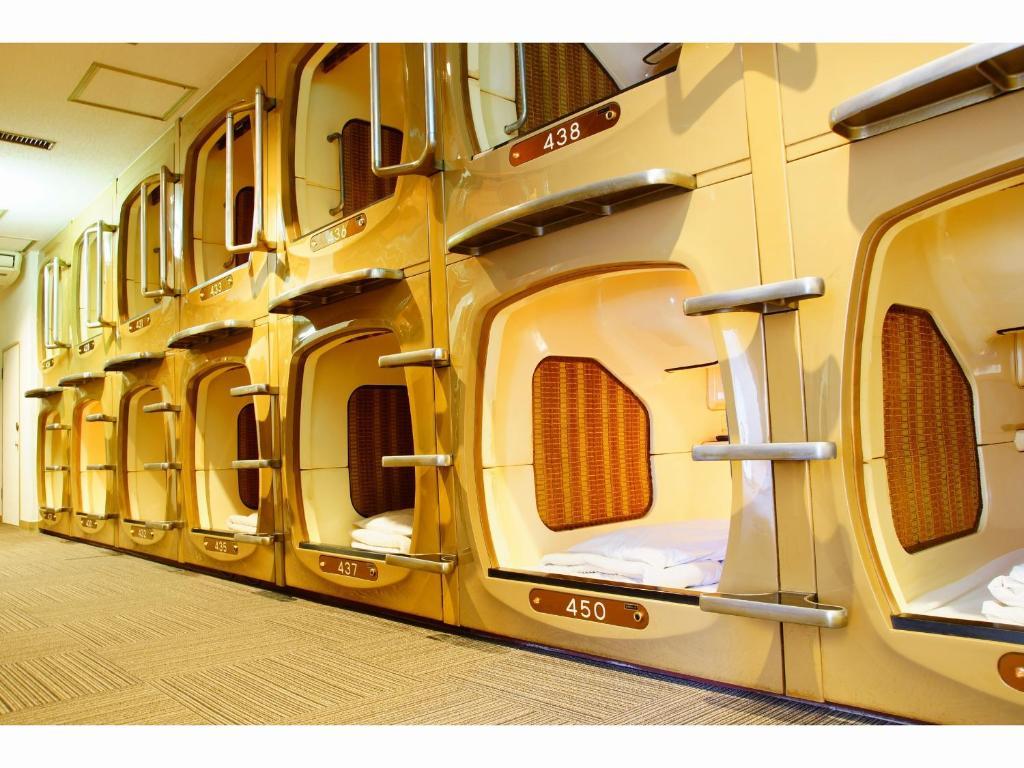 hoteles en cápsula