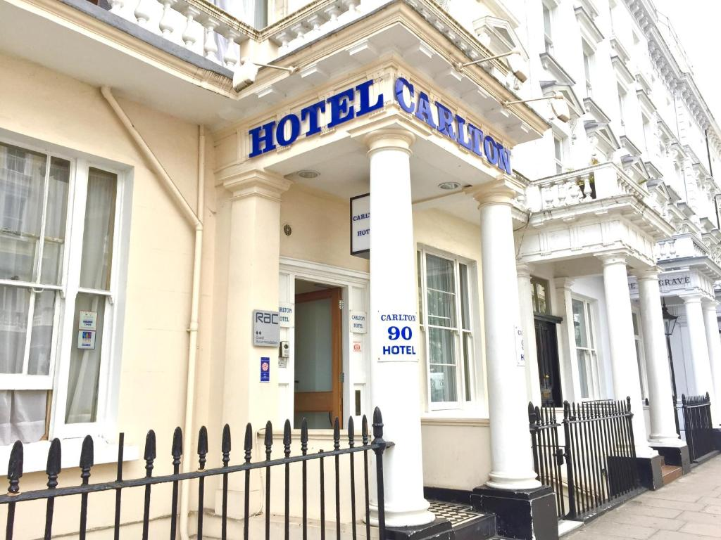 Carlton Hotel B B London Uk Booking Com