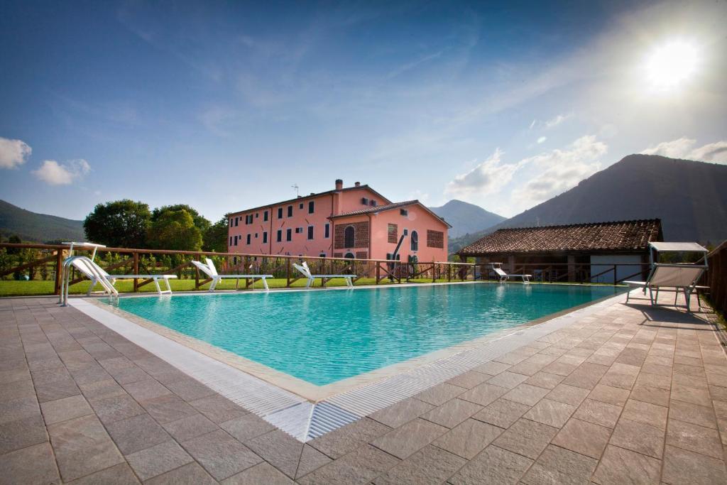 The swimming pool at or near Tenuta San Giovanni Lucca