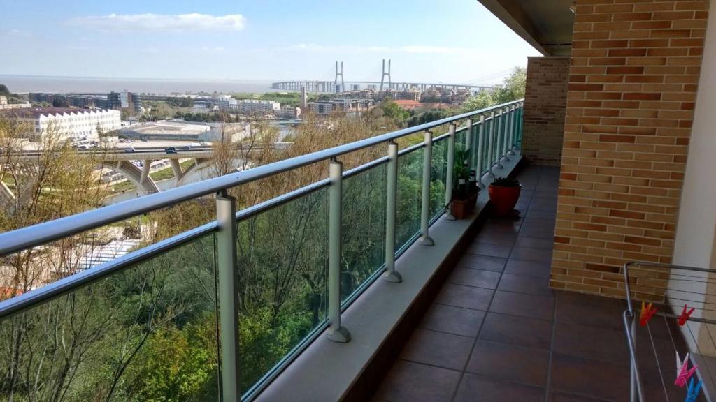 A balcony or terrace at Miriam Sousa