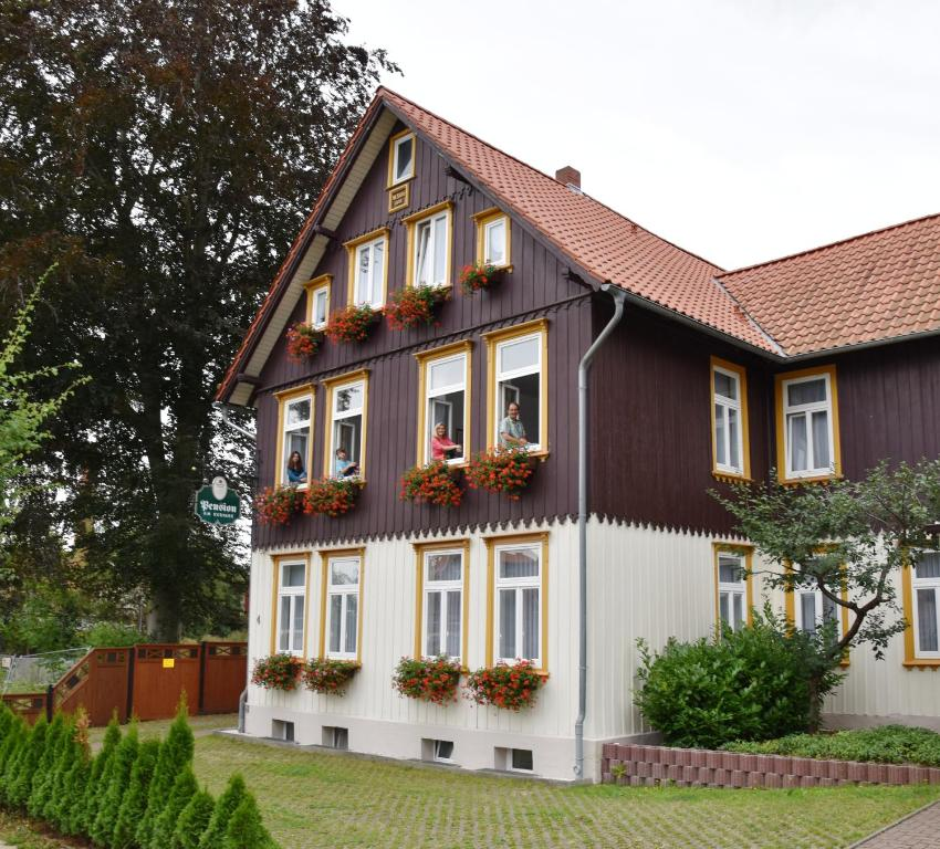 Kurpark08: Hotelpension Am Kurpark (Deutschland Blankenburg