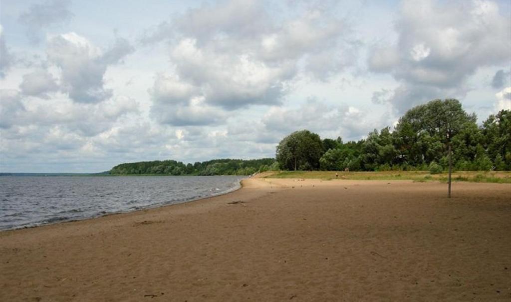 пляжный отдых на селигере