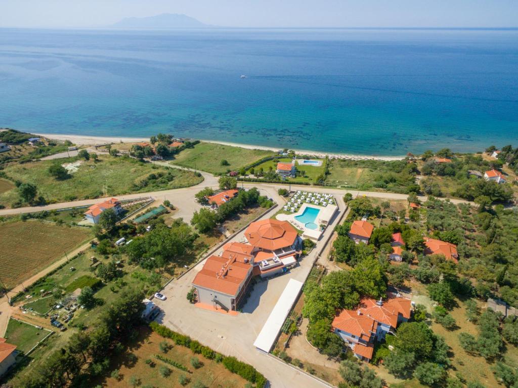A bird's-eye view of FilosXenia Ismaros Hotel
