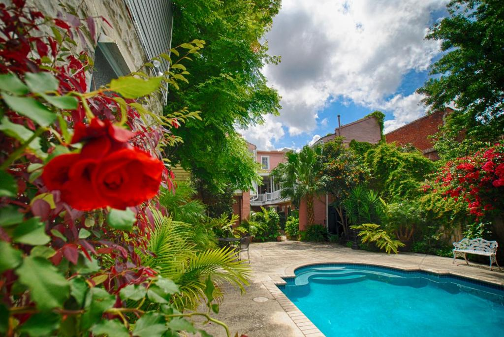 The swimming pool at or near Lamothe House Hotel a French Quarter Guest Houses Property