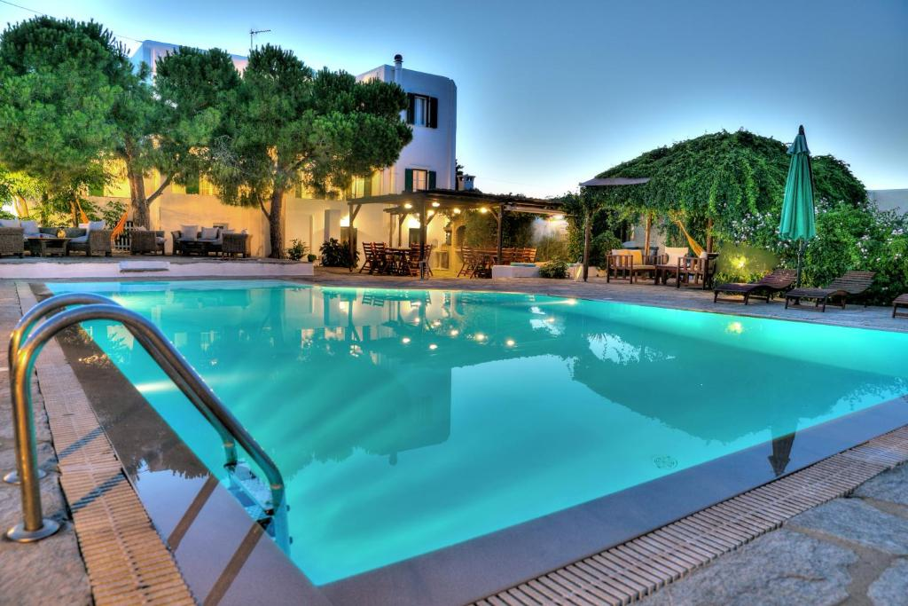 The swimming pool at or near Tzane Apartments