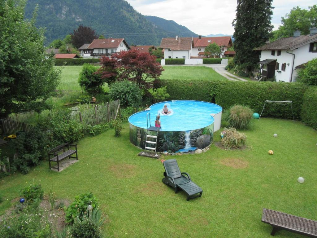 A view of the pool at Ferienwohnung Steffl Martina or nearby