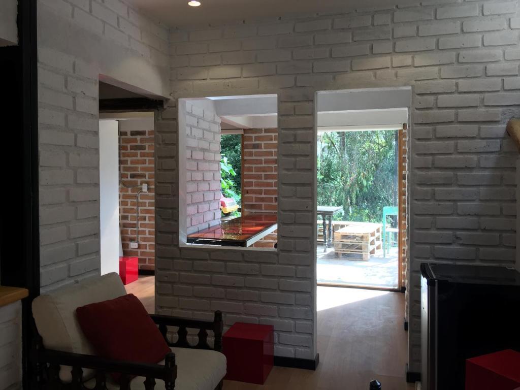 Ladrillo Loft acogedor moderno y ecológico loft de bambú y ladrillo cuenca